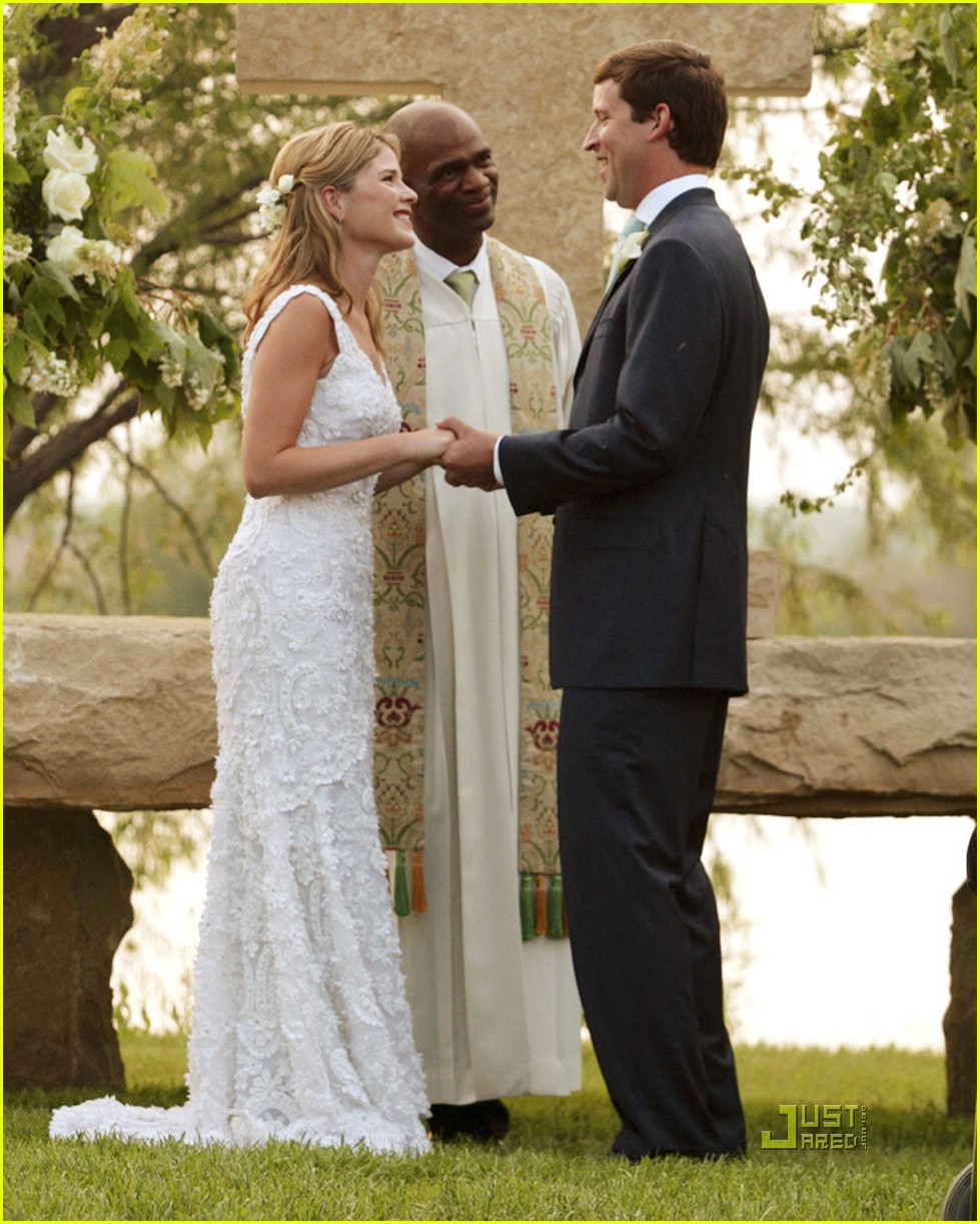 Weddings Pictures Gallery: JENNA BUSH WEDDING PHOTOS