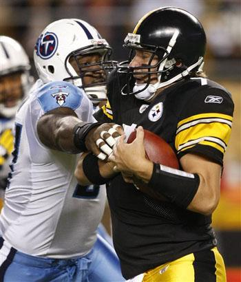 Titans Steelers Football