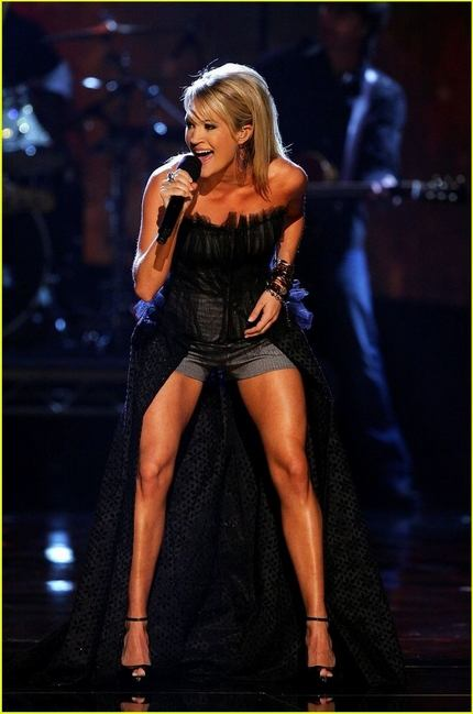 #10 Carrie Underwood - She might have been higher on my list but she's now